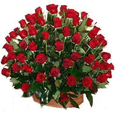 Hundred roses Basket