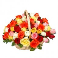 Arrangement of 50 mix roses