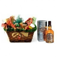 Chivas Regal Christmas Basket