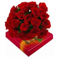 24 Roses y Chocolates box
