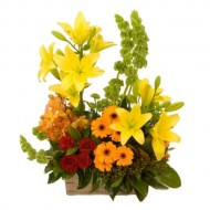 Bright Flowers arrangement