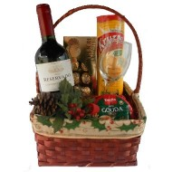 Christmas Basket to Chile