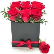 Box of 9 Roses