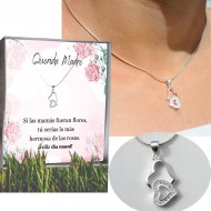 Just for Quito - Silver Necklace