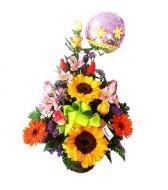 Shiny flowers for mom