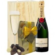 Moet & Chandon Champgne and chocolates