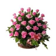 50 Roses Basket